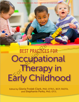 Best Practices for Occupational Therapy in Early Childhood (Adoption Review)